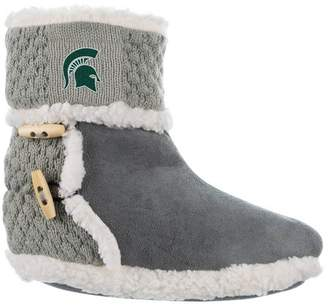 NCAA Michigan State Spartans Women's Sherpa Boot 9-11
