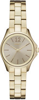 DKNY Women's Casual Case Gold-Tone Stainless Steel Bracelet Watch 30mm NY2523