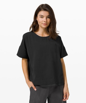 Lululemon Shift in Time Short Sleeve