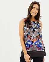 Dorothy Perkins Floral Shell Top