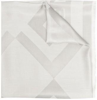 Givenchy Motif-Print Silk Scarf
