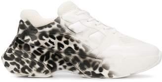 Pinko leopard print sneakers