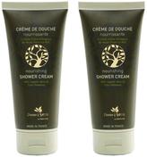 Organic Olive Oil Shower cream (set of 2)