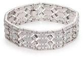 Adriana Orsini Pave Crystal Wide Line Bracelet