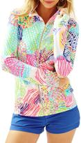 Lilly Pulitzer Reagan Zip Up Sweatshirt