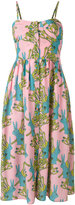 L'Autre Chose rabbits print dress - women - Silk - 38