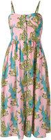 L'Autre Chose rabbits print dress - women - Silk - 40