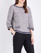 St. John Vany knitted top