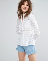 Paul & Joe Sister Camino Broderie Anglaise Blouse