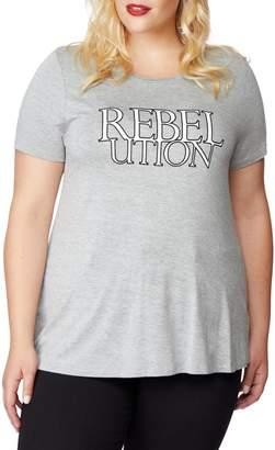 Wilson Rebel x Angels Sequin Graphic Tee