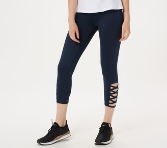 G.I.L.I. Got It Love It Tracy Anderson for G.I.L.I Petite Leggings with Cutout Detail