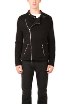 Pierre Balmain Black Sweater Jacket