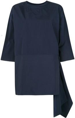 Sofie D'hoore Oversized Asymmetric Cotton Top