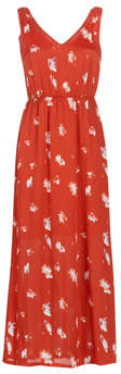 Only ONLGIZA women's Long Dress in Red