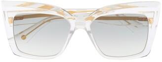 Dita Eyewear Telemaker square-frame sunglasses