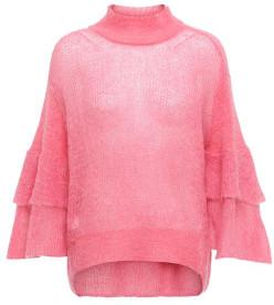 Sass & Edge - Pink Lipstick Project Aj Love Jumper - XS - Pink