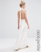 Asos Open Back Maxi Dress