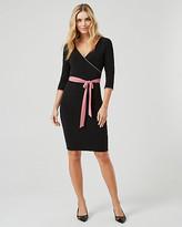 Le Château Reversible Knit Wrap-Like Dress