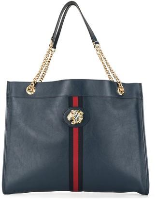 Gucci Tiger Plaque Tote Bag