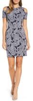MICHAEL Michael Kors Women's Samara Cold Shoulder Sheath Dress