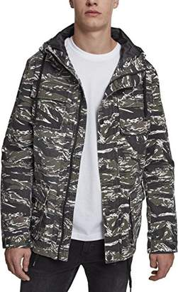 Urban Classic Men's Tiger Camo Cotton Jacket