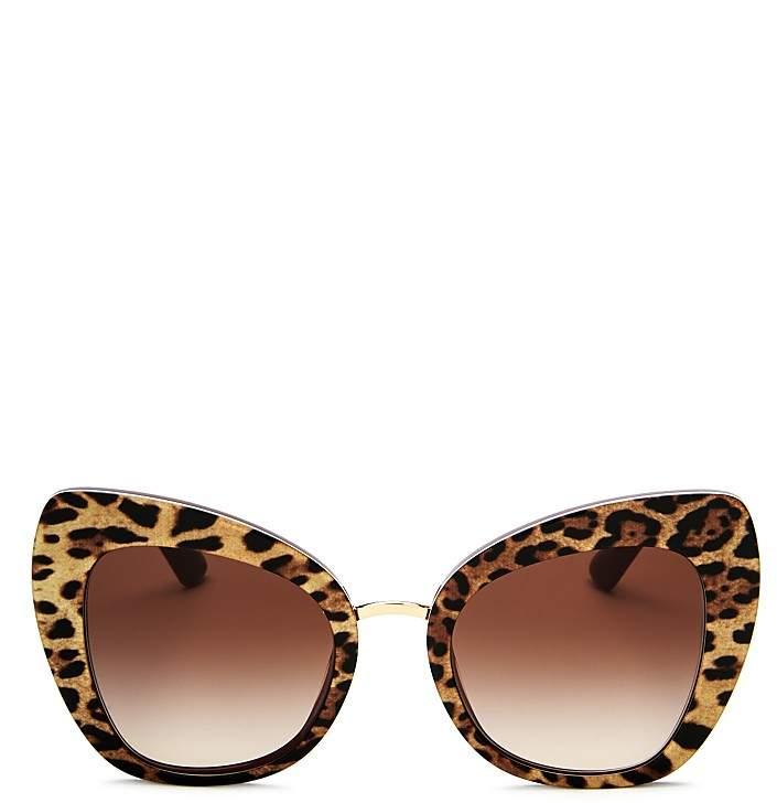 Dolce & Gabbana Cat Eye Sunglasses, 51mm