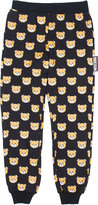 Moschino Teddy bear stretch-cotton jogging bottoms 4-14 years