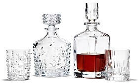 Riedel Nachtmann Punk Whiskey Decanter and Double Old Fashioned Set - 100% Exclusive