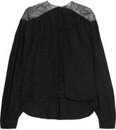 Preen by Thornton Bregazzi Reno oversized lace blouse