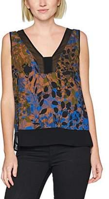 Sisley Women's Sleeveless Blouse,Medium