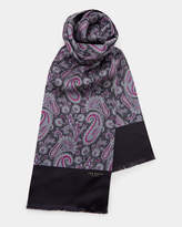 Ted Baker Paisley printed silk scarf