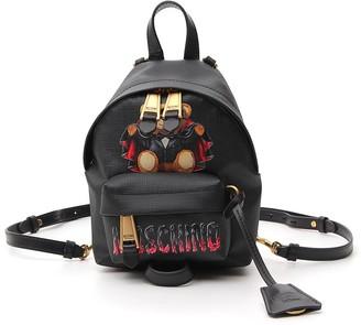 Moschino Teddy Bear Logo Backpack