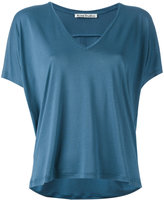 Acne Studios V-neck T-shirt - women - Lyocell - XS