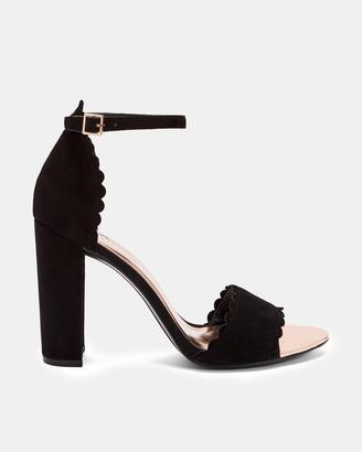 Ted Baker RAIDHA Scallop detail sandals