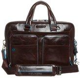 Piquadro Blue Square (39 Cm) Briefcase Mogano