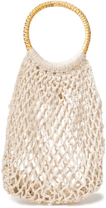 Kayu Andie Crocheted Cotton Tote