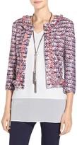 St. John Montserrat Tweed Knit Jacket