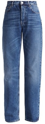 Totême Ease High-Rise Straight Jeans