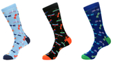 Jared Lang Dragonfly Socks (3 PK)