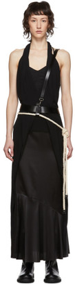 Ann Demeulemeester SSENSE Exclusive Black Kenya Harness Belt