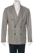 Alexander McQueen Cashmere Double-Breasted Jacket
