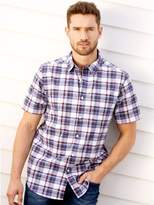 M&Co Country check short sleeve shirt