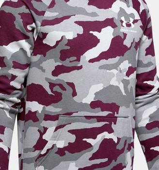 Under Armour Boys' UA Rival Printed Hoodie