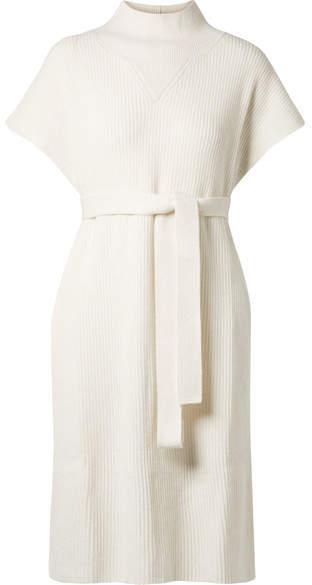 Agnona Belted Cashmere Tunic - Ivory
