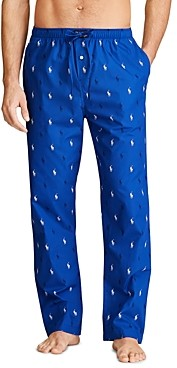 Polo Ralph Lauren Cotton Pony Print Relaxed Fit Pajama Pants