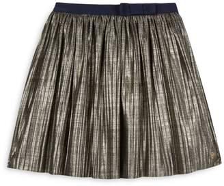 Lili Gaufrette Little Girl's Metallic Skirt