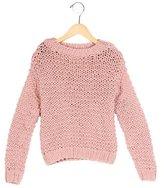 Stella McCartney Girls' Open Knit Oversize Sweater