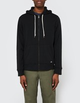 Obey Lofty Comforts Zip Hood in Black