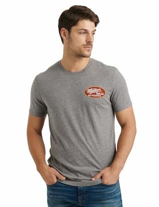 Lucky Brand Men's Short Sleeve Crew Neck Miller High Life Tee