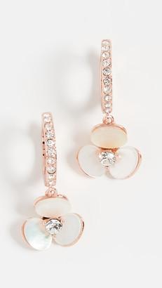 Kate Spade Disco Pansy Drop Earrings